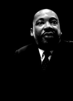Martin Luther King by ecaty