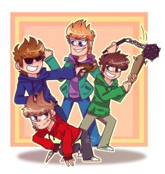 the gang is here-eddsworld by rainbow223