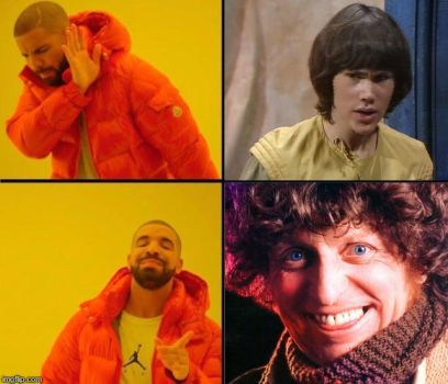 I prefer 4th Doctor, Not Adric by RedWesternRanger