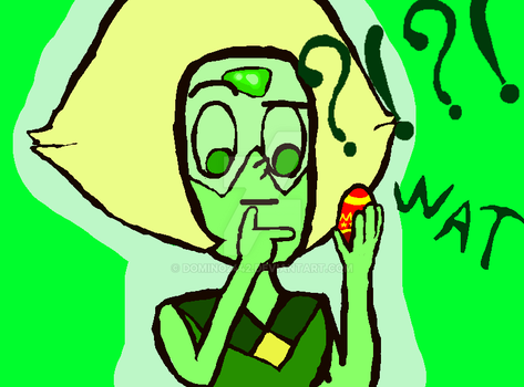 Peridot meat easter egg by Domino2442