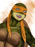 Rule 63 Michelangelo by SofiaMarshall