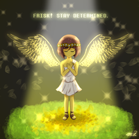 [Reapertale] Emissary of Mercy by MCMania332