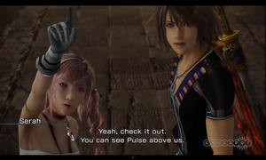 Serah and Noel Screenshot n.2 by SerahsBowBlade