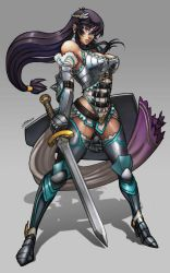 Warrior girl by Brolo