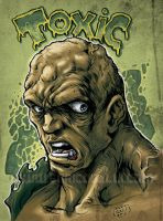 The Toxic Avenger color sketch by EnricoGalli
