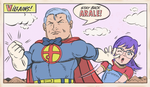 ARALE AND SUPPAMAN by paintmarvels