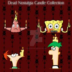Dead Nostalgia- Buddy Candles by echelonangel15