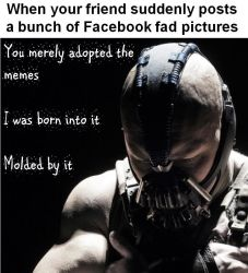 You merely adopted the memes by defender2222