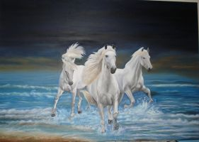 White Horses by Supernaturalgirlx