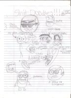 SHIT DOODLES!!! #2 by BlackandRedCynicXD
