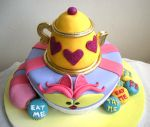 Cheshire Cat cake 1 by bahgee