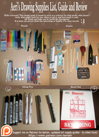 Aeri's Drawing Supply List, Guide, and Review by AerianR