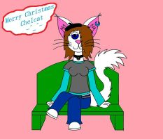 Merry Christmas Chelcat by Pokelord-EX