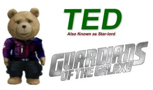 Ted Star-lord - Guardians Of The Galaxy by StarkilerOmega