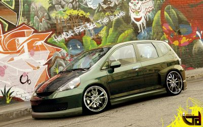 Honda Fit by Flame-CZE