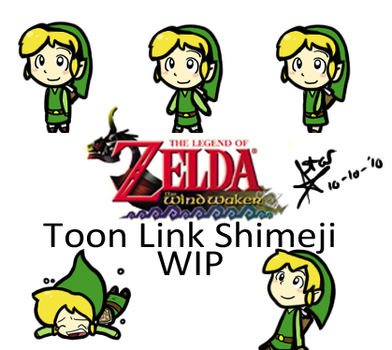 Link Shimeji WIP by Chibidoodles