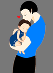 Spock and Kirks baby... by MazInvader