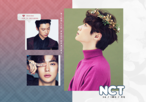 NCT Photopack #1 /Yearbook 2018 by Nighlie