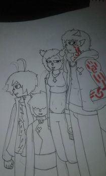 the babus 1(wip) by chulitoelluchito