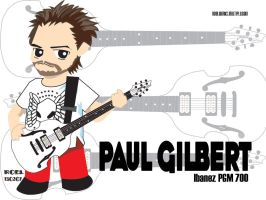 Paul Gilbert Chibi 2 by roelworks
