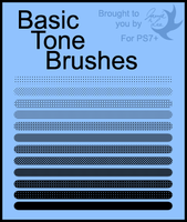 Brushes: Basic Tones by Jammerlee