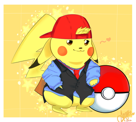 Swaggin' Pikachu (POKEMON) by Noracchi
