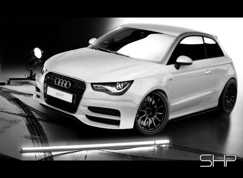 Audi A1 SHPline by shappass
