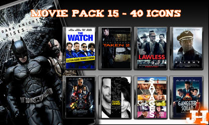 Movie Pack 15 - 40 Icons by jake2456