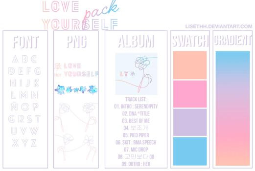 BTS - LOVE YOURSELF `HER` PACK by Lisethh