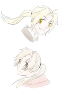 Cinnamon Roll Brothers by chrompetitive