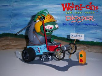 Digger the way out Dragster by MisterBill82