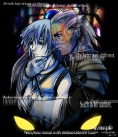 to steph-san-Riku x Ansem by gem2niki
