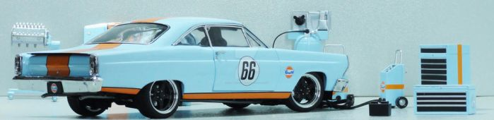 GMP 1967 GULF FAIRLANE by COMMANDER--WOLFE