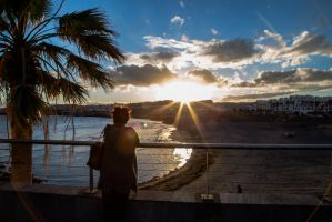 Sunset in Tenerife 2 by BusterBrownBB