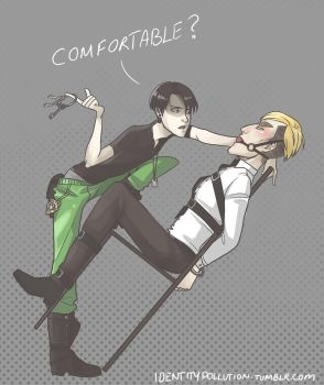 Comfortable? by IdentityPolution