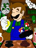 Cooking Mama Luigi by professorhazard
