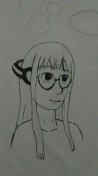 Futaba drawing by MinuanoGS