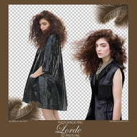 Pack Png Lorde by Emifloow