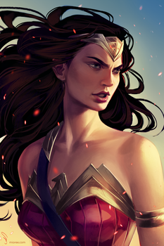 Wonder Woman by mioree-art