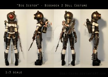 'Big Sister' Costume views by Cospigeon