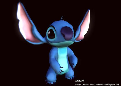 Stitch by bunnybiscuit