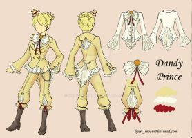 Prince Dandy outfit by Kairi-Moon