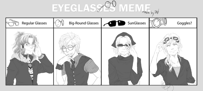 Megane and OC's by Lizmun