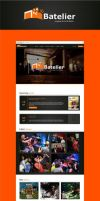 Web design for Batelier by jozef89