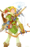 LoZ - Ready to Fight Evil by GreenOverGreen