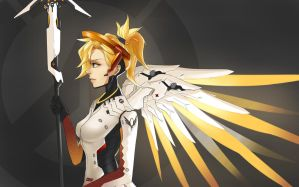 Overwatch : Mercy by Chibikotan