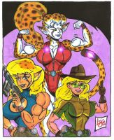The Diggers Sisters by Lonzo1