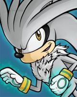 Silver the Hedgehog by JellySoupStudios