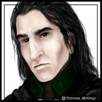 Severus Snape by mcgray