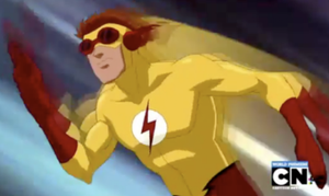 Kid Flash in Young Justice by LongShot-L